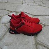 подростковые кроссовки красные с черным 38р и 41р