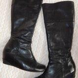 Демисезонні шкіряні чобітки чоботи демисезонные кожанные сапоги hogl