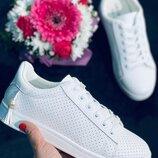 Красивые женские белые кеды кроссовки білі кеди кросівки жіночі