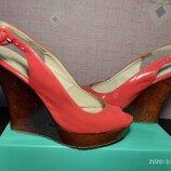 Туфли,балетки,босоножки,сандали размер 37,5 фирмы Centro, б/у