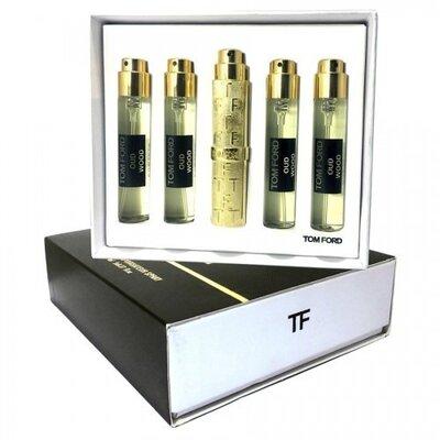 Набор мини-парфюмов унисекс Tom Ford Oud Wood 5 в 1