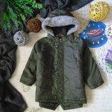 1-1,5года.Куртка-парка демисезонная George мега выбор обуви и одежды