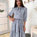 Платье Лайма девять расцветок