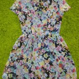 Эффектное шифоновое платье Topshop М р.