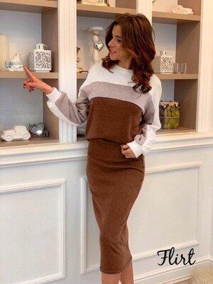 Женский костюм юбка и кофта от 40 по 60 размер