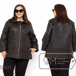 Куртка демисезонная с подкладом на синтепоне 100, застежкой на молнии и высоким воротом Z0405