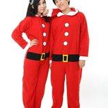 Кигуруми Санта 48 слип пижама человечек