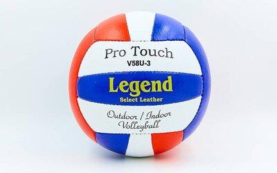 Мяч волейбольный Legend 2006 размер 5, PU сшит вручную