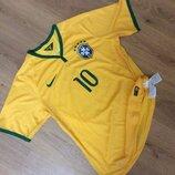 Футболка NIKE BRASIL NEYMAR 10 оригинал размер L