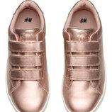 Розовое золото h&m кроссовки р.38