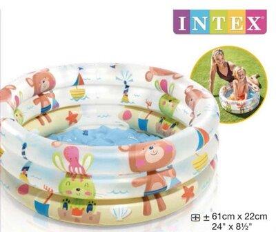 Продано: Intex Бассейн 57106 Динозаврики 61х22см, объём 33л, от 1 до 3 лет