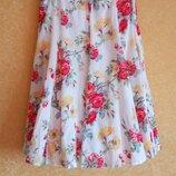Яркая летняя юбка пышная в цветочный принт/самые низкие цены/подарки