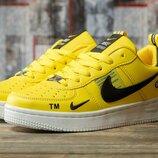 Кроссовки Nike Air Force желтые