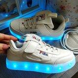 Мегакрутые светящиеся Led-кроссовки р. 29-450 грн, 32-37 470 грн, USB. 11 режимов , 7 цветов