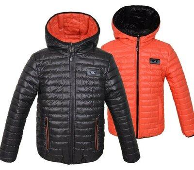 Куртка двостороння куртка Демі демисезонная куртка
