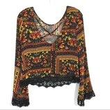 Стильный топ блуза от H&M рр 8 наш 42