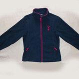 Синяя флисовая кофта на молнии толстовка Tottenham Hotspur