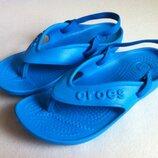Crocs Вьетнамки, Флип Флопы Кроксы размер С 13 30 по стельке - 19,5 см Оригинал Как Новые