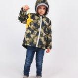 Демисезонная куртка 2 в 1 весенняя, размер 92-146