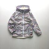 Ветровка на флисе / куртка с капюшоном / дождевик в стиле Next Некст / летняя ветровка