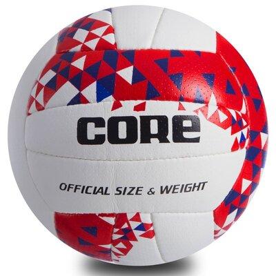 Мяч волейбольный Composite Leather Core 034 размер 5, PU сшит вручную
