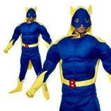 Bananaman Костюм Супергероя Banana Man