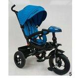 Турбо Трайк 5448 велосипед детский трёхколёсный с ручкой