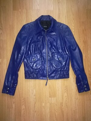 Кожаная куртка TAIFUN Collection Германия, кожанка, куртка шкіряна р.S