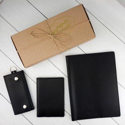 Подарочный набор 25 обложка на ежедневник обложка на паспорт ключница