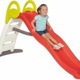 Горка Smoby Toys Веселая волная с водным эффектом Оранжевая 200 см 820402