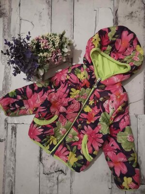 Куртка 1-1,5 г, весенняя детская куртка, детская ветровка, легкая детская куртка, жилет детский