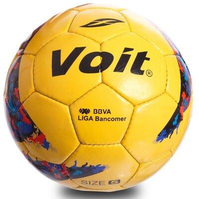 Мяч футбольный 5 Voit 0715 размер 5 PU, сшит вручную
