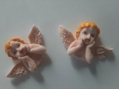 Сахарные украшения, ангелок.