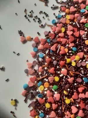 Посыпка сахарная микс , смесь,.