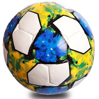 Мяч футбольный 5 Telstar 0712 размер 5 PU, сшит вручную