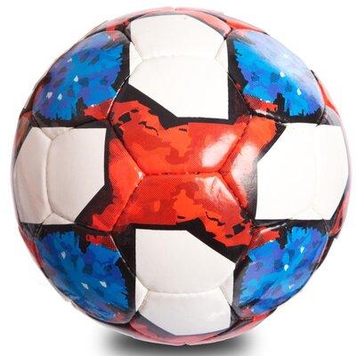 Мяч футбольный 5 Telstar 0711 размер 5 PU, сшит вручную