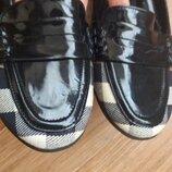 Туфли комбинированы.р.40.burberry.