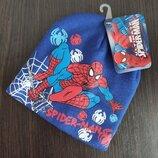 Детская шапка Человек паук Спайдермен Щенячий патруль Гонщик Маршал