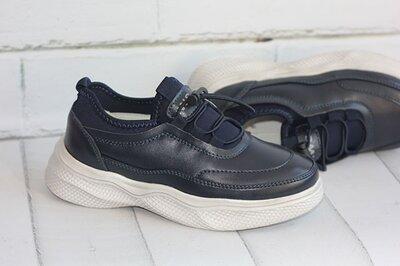 Кожаные кроссовки в наличии Размеры 31-37