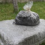 Грибной блок белого Шампиньона компост покровный грунт 60х40 см.