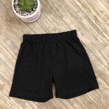Базовые черные шорты disney размер на 7-8 лет рост 122-128 см