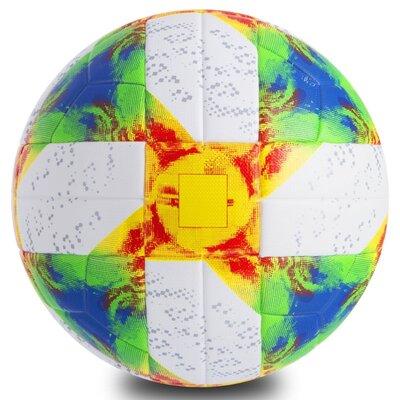 Мяч футбольный 5 Euro Cup 0446 размер 5 PU, клееный