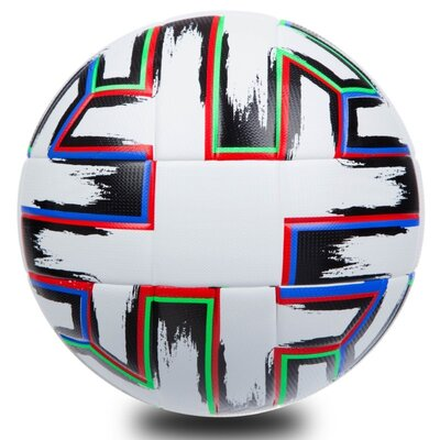 Мяч футбольный 5 Euro Cup 1549 размер 5 PVC, клееный