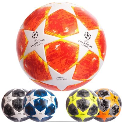 Мяч футбольный 5 Champ League 0413 размер 5 PVC, клееный