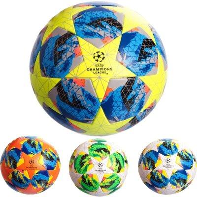 Мяч футбольный 5 Champ League 0412 размер 5 PU, клееный