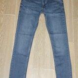Мужские стрейчевые молодежные джинсы скини Slim Fit 6653 Jakron р30-38