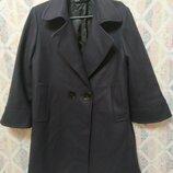Стильное пальто от zara шерсть