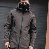 Куртка демисезонная мужская куртка софтшелл весенняя мужская курточка Soft Shell