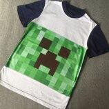 Minecraft Майнкрафт футболка 3Д картинка