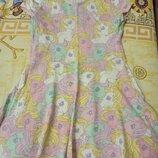 Платье на 5-6лет с Понни